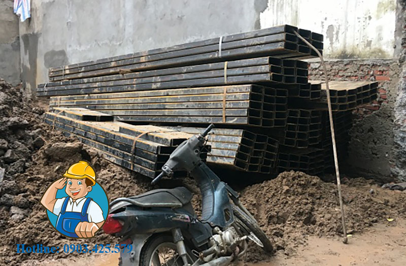 Cho thuê thép cọc cừ tại Bến Tre