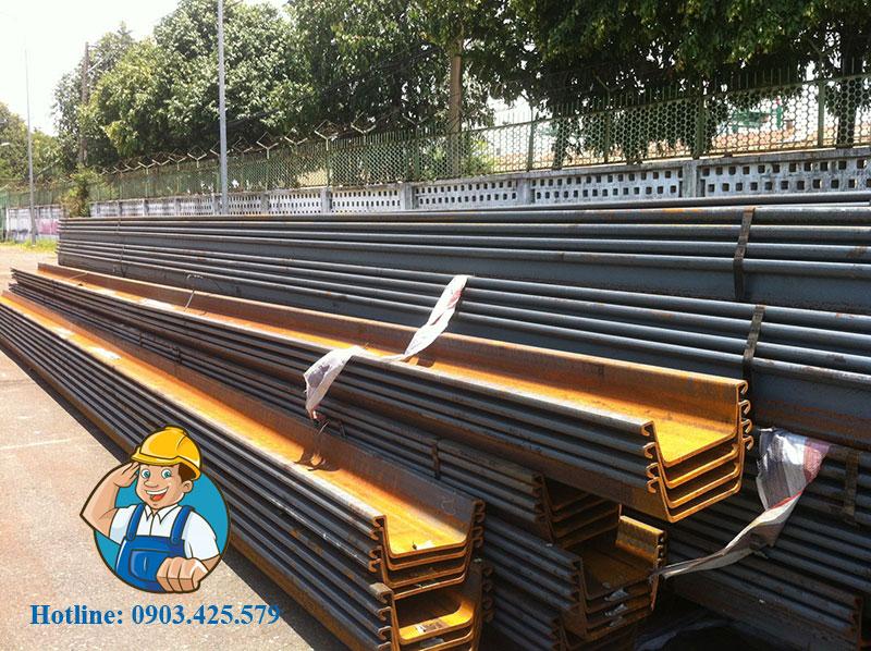 Giá cho thuê thép cọc cừ larsen tại Tây Ninh
